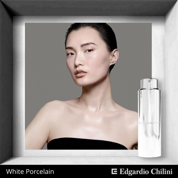 Edgardio Chilini White Porcelain
